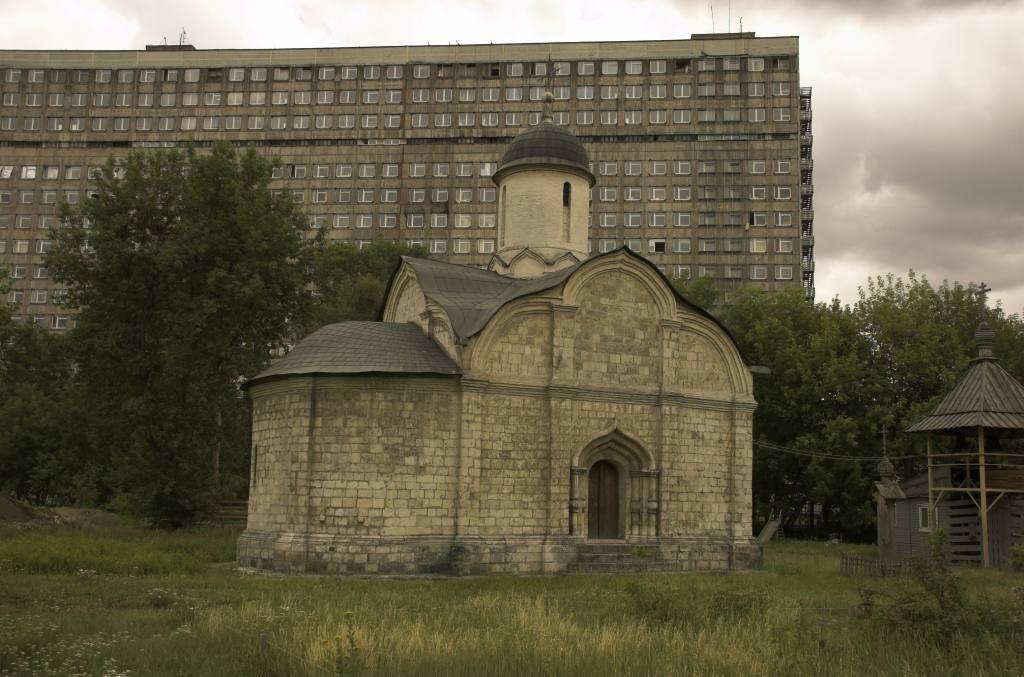 Храм святого мученика Трифона в Напрудном - YouTube